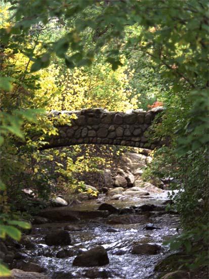 I love stone bridges... stone anything, really.