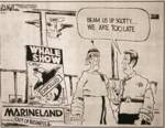 Cartoon about closure of Marineland