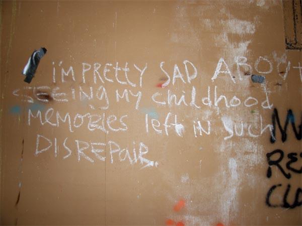 Marineland graffiti