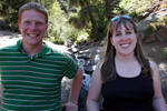 Adam and me at the Helen Hunt Falls. (Not that Helen Hunt.)