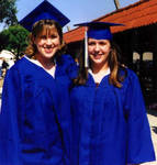 Me with Chalise at our high school graduation