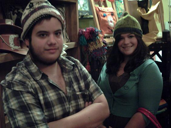 Kyle and Vanessa have hats! (2007)